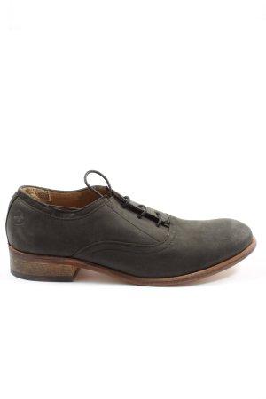Bronx Chaussures à lacets noir style décontracté