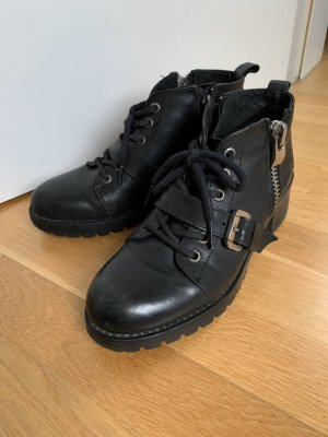 Bronx Chaussures à lacets noir