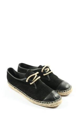 Bronx Sznurowane buty czarny W stylu casual