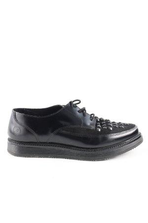 Bronx Schnürschuhe schwarz Elegant