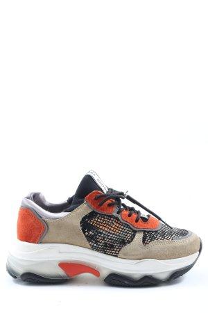 Bronx Sneaker stringata multicolore stile casual