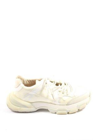 Bronx Sneaker stringata crema stile atletico