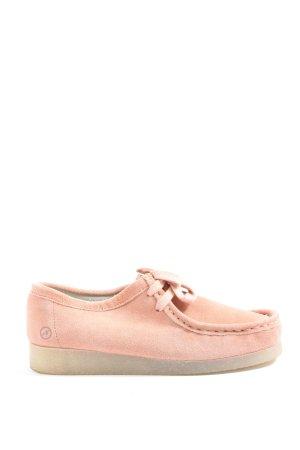 Bronx Schnürsneaker pink Casual-Look