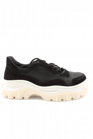 Bronx Sneaker stringata nero stile casual