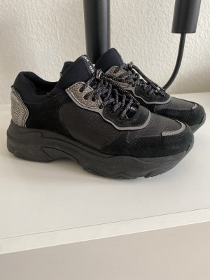 BRONX Schuhe Plateau Schwarz Größe 38