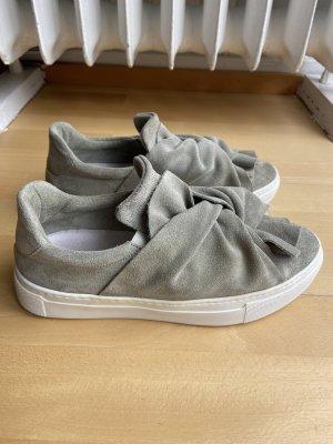 Bronx Sneaker slip-on verde-grigio-grigio chiaro