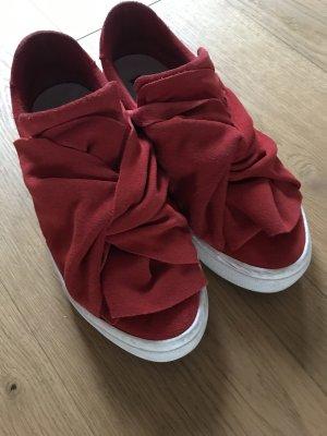 Bronx Sneaker Leder Slipper