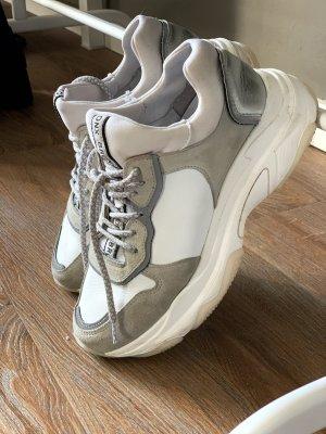 Bronx Wedge Sneaker grey-white