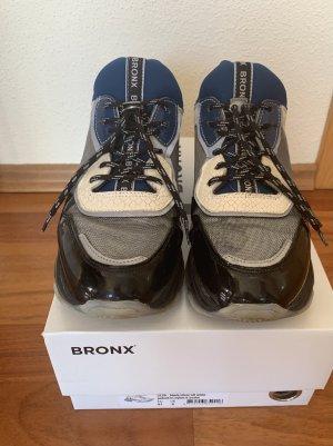 Bronx Sneakers in Silber/schwarz