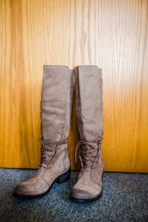 Bronx Stiefel Leder Overknees Herbststiefel Winterstiefel Boots elegant
