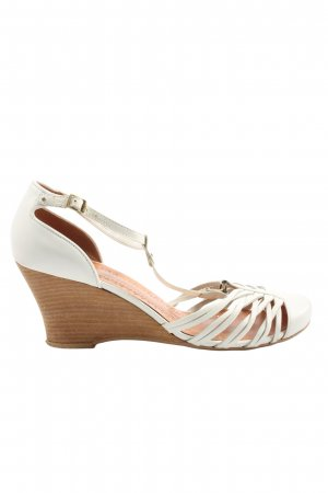 Bronx T-Strap Pumps natural white casual look