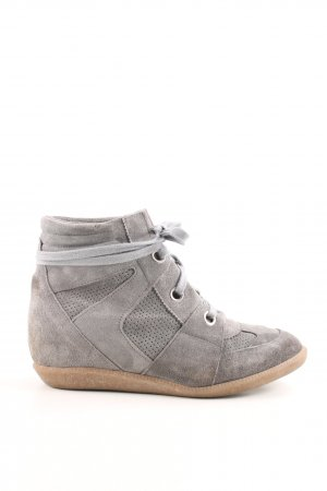 Bronx Wedge Sneaker hellgrau Casual-Look