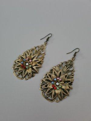 Scarlet Bijoux Pendientes de cuentas multicolor