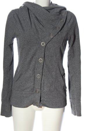 Brooklyn Industries Cardigan grigio chiaro puntinato stile casual