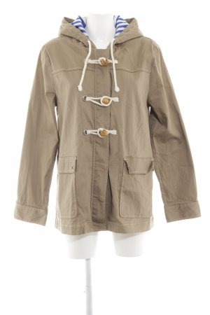 Brooklyn Industries Kapuzenjacke creme Casual-Look