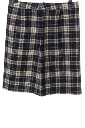 Brooks Brothers Jupe taille haute noir-blanc motif à carreaux