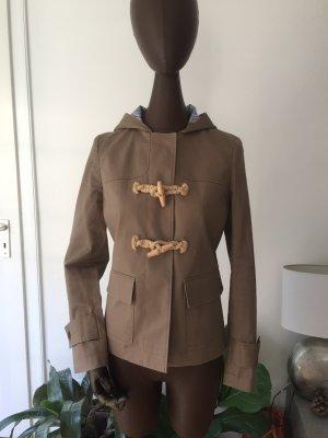 Brooks Brothers Veste à capuche gris brun-marron clair