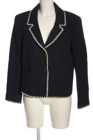 Brooks Brothers Krótka marynarka czarny-biały W stylu casual