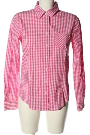 Brooks Brothers Chemise à manches longues rose-blanc motif à carreaux