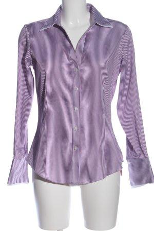 Brooks Brothers Chemise à manches longues violet-blanc imprimé allover
