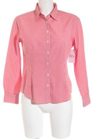 Brooks Brothers Chemise à manches longues rouge-blanc motif à carreaux