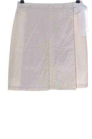 Brooks Brothers Mini-jupe crème style décontracté