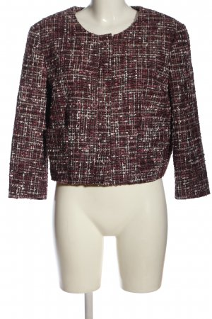Brooks Brothers Blazer en tweed rose-blanc style décontracté