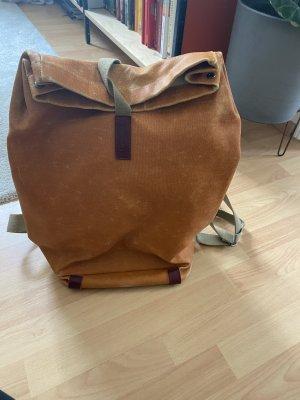 Brooks Zwijany plecak cognac Skóra