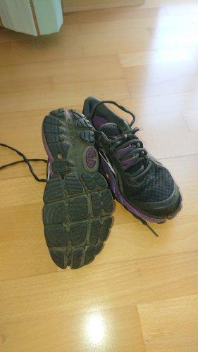 Brooks Sznurowane buty czarny-fiolet