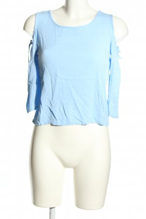 Brooks Schlupf-Bluse blau Casual-Look