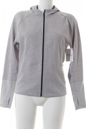 Brooks Sweatjacke grau Casual-Look