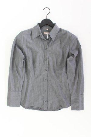 brookshire Bluse Größe 38 grau aus Baumwolle