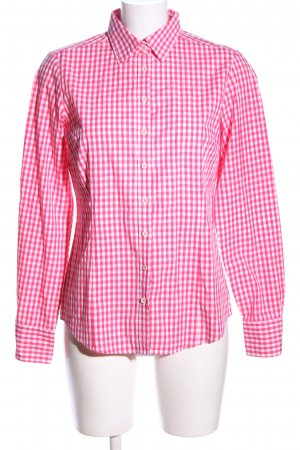 Brookshire Shirt Blouse pink-white check pattern casual look