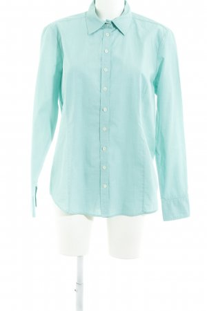 Brookshire Shirt Blouse turquoise business style