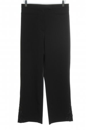 Brookshire High Waist Trousers black elegant