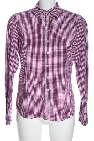 Brookshire Lumberjack Shirt red-white allover print casual look