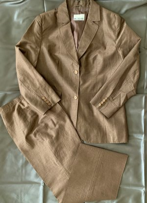 Brookshire Trouser Suit light brown-brown