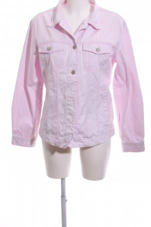 Brookshire Denim Jacket pink casual look