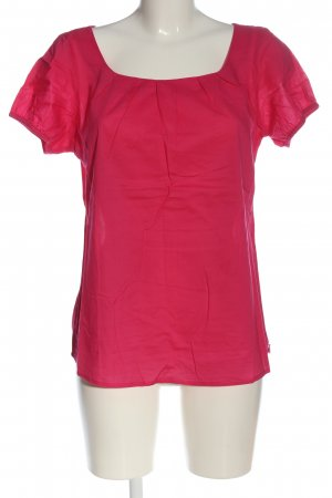 Brookshire Camicetta a maniche corte rosa stile professionale