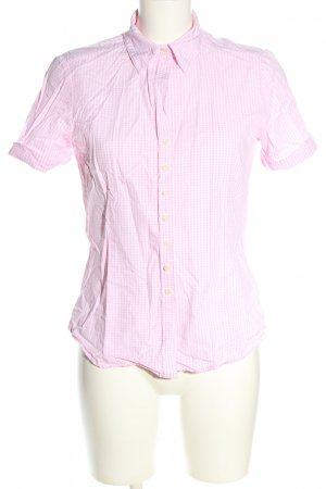 Brookshire Short Sleeve Shirt pink-white check pattern casual look