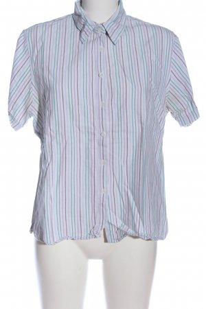 Brookshire Short Sleeve Shirt striped pattern business style