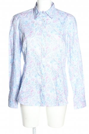 Brookshire Long Sleeve Blouse abstract pattern casual look
