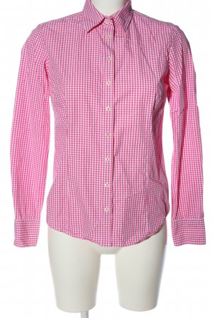 Brookshire Long Sleeve Shirt pink-white allover print casual look