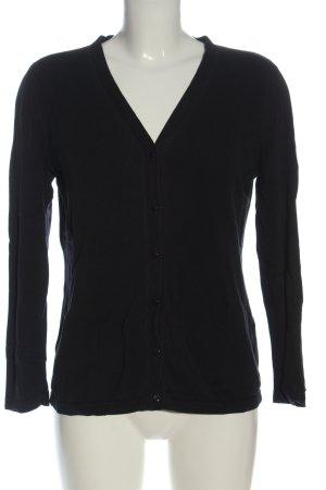 Brookshire Cardigan in maglia nero stile casual