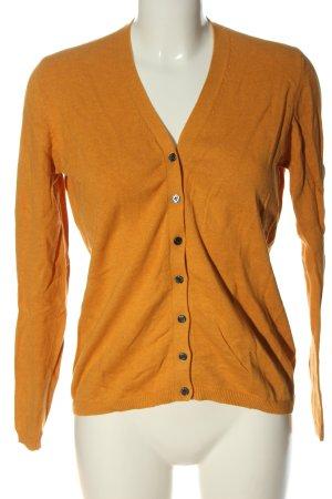 Brookshire Knitted Cardigan light orange casual look