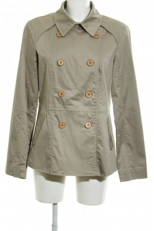 Brookshire Trench Coat grey brown business style