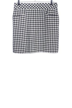 Brookshire Tweed rok zwart-wit volledige print casual uitstraling