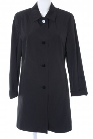 Brookshire Between-Seasons-Coat black simple style