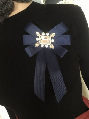Accessorize Brooch dark blue