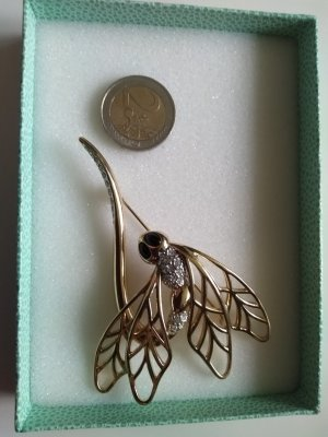 Pierre Lang Brooch gold-colored